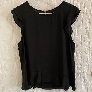 Forever 21 Black Blouse Size Small